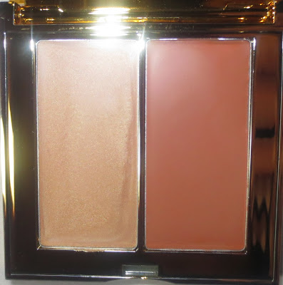 AERIN Multi Color Duo for Lips & Cheeks - Warm Gold & Rich Nude