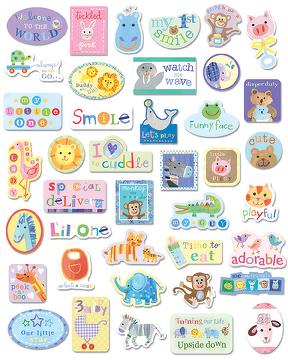 Pegatinas infantiles para imprimir imagenes y dibujos for Pegatinas decorativas para bebes