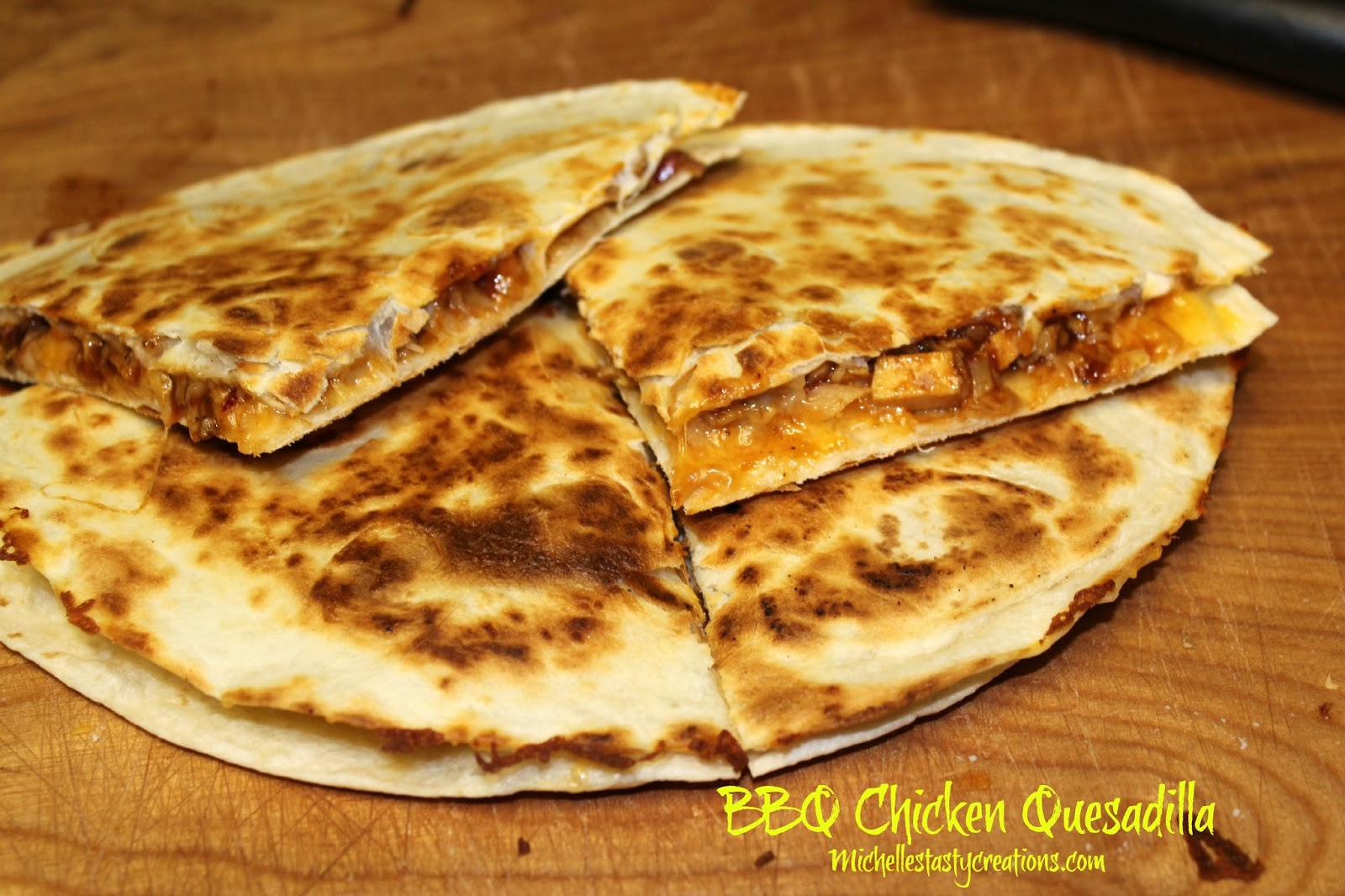 Michelle's Tasty Creations: BBQ Chicken Quesadillas