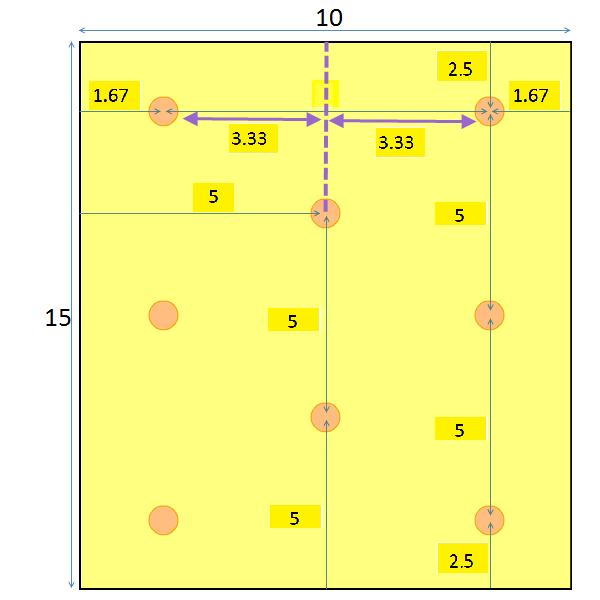 Recessed lighting spacing placement calculator 8 recessed lighting layout placement mozeypictures Gallery