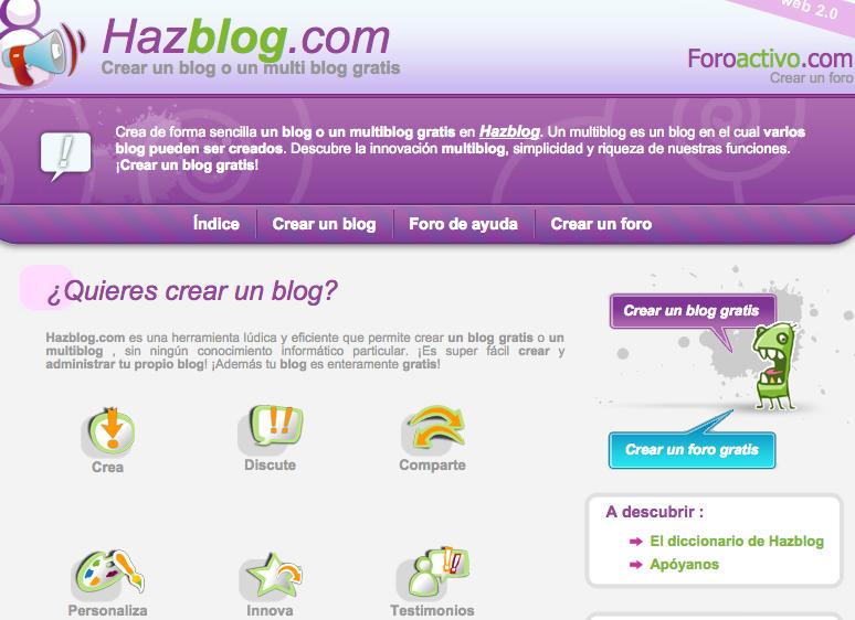 cómo crear web gratis