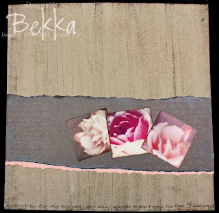 Scrapbook Page with Botanical Gazette