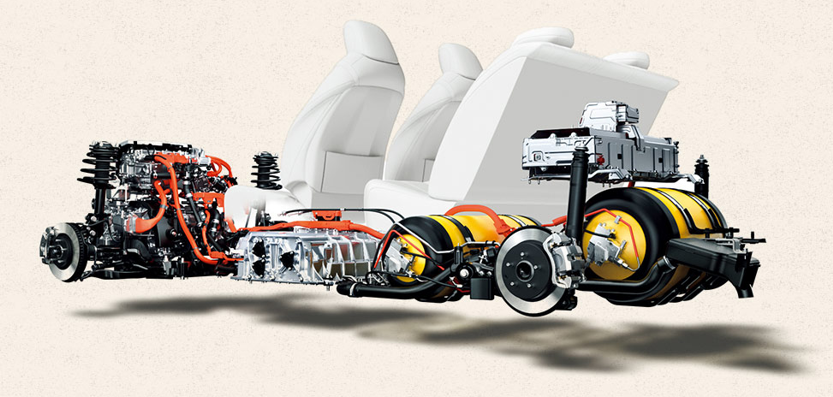 Mirai Fuel Cell powered vehicle