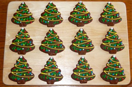 gingerbread christmas tree from mommys idea book - Gingerbread Christmas Tree Decorations