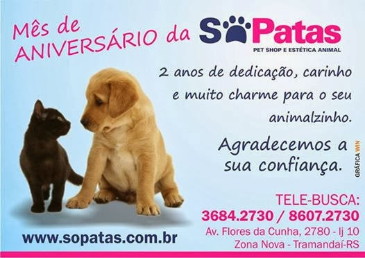 Sópatas Pet Shop e Estética Animal