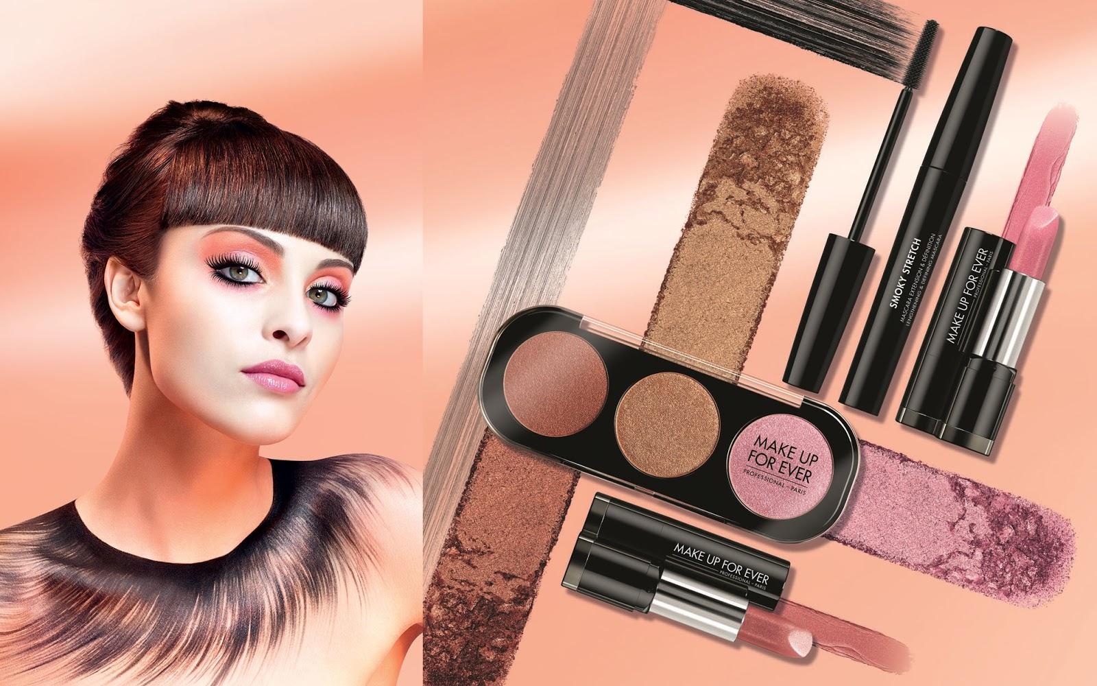 make up for ever spring color
