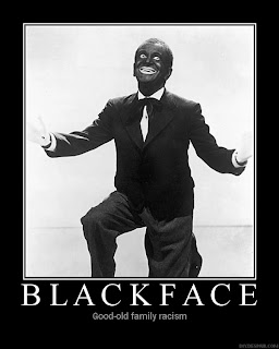 Blackface - good old family racism