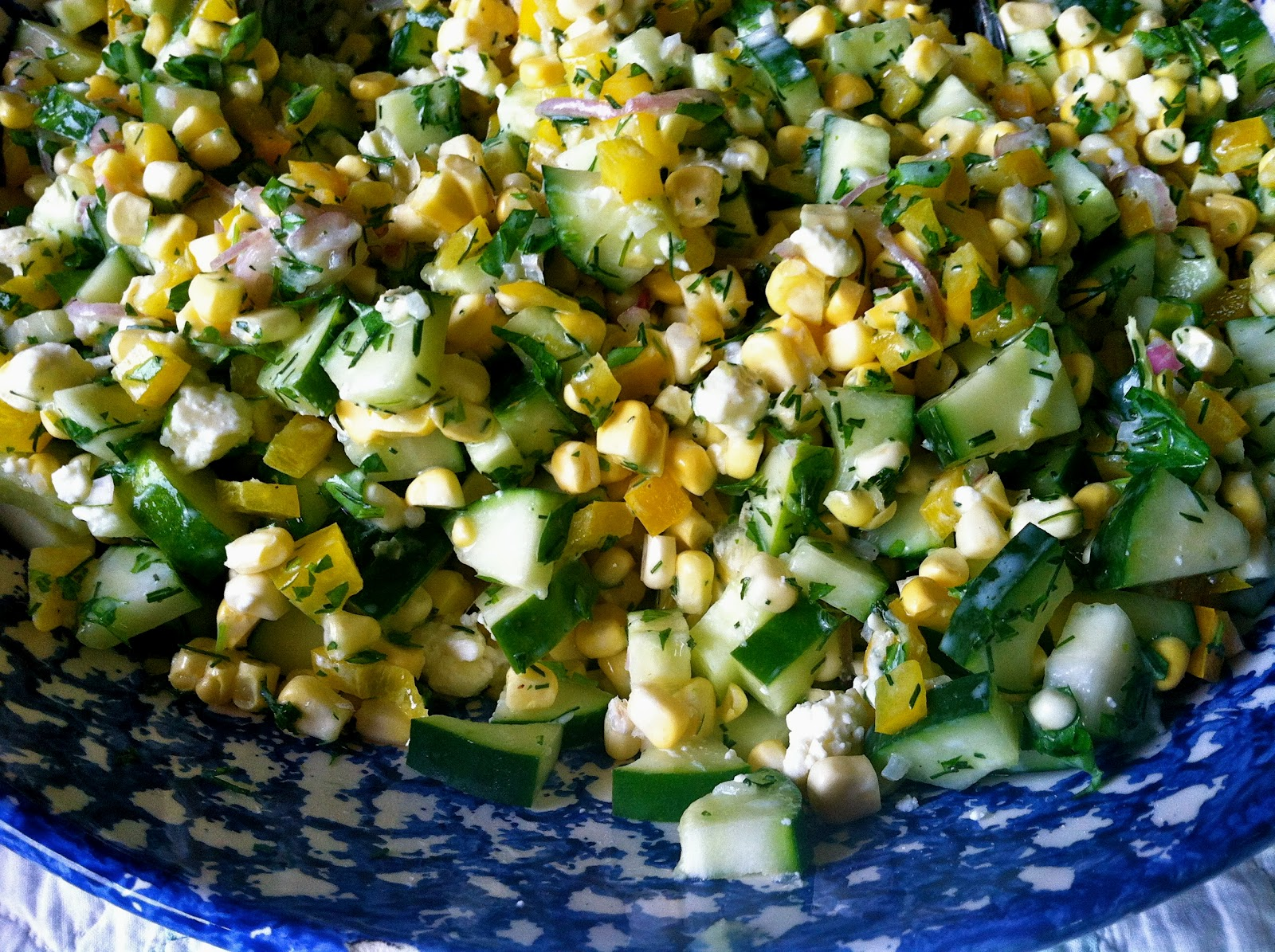 ... Crunchy Sweet-Corn Salad With Buttermilk Dressing Recipes — Dishmaps
