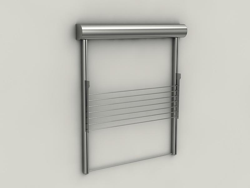Stendidea tendedero minimalista en acero inoxidable - Tendederos de interior ...
