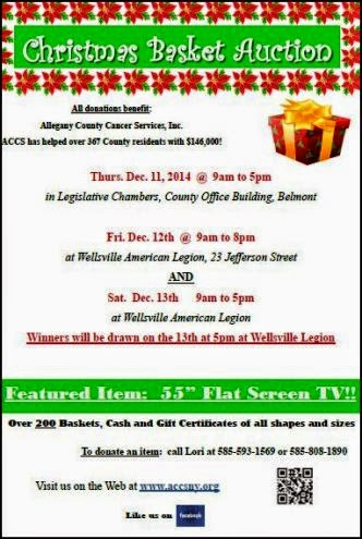 12/11/12/13 Christmas Basket Auction