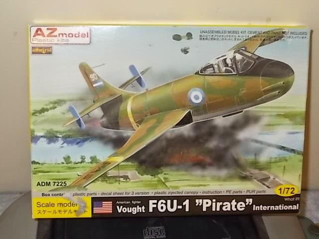 Making the AZ Models F6U Pirate