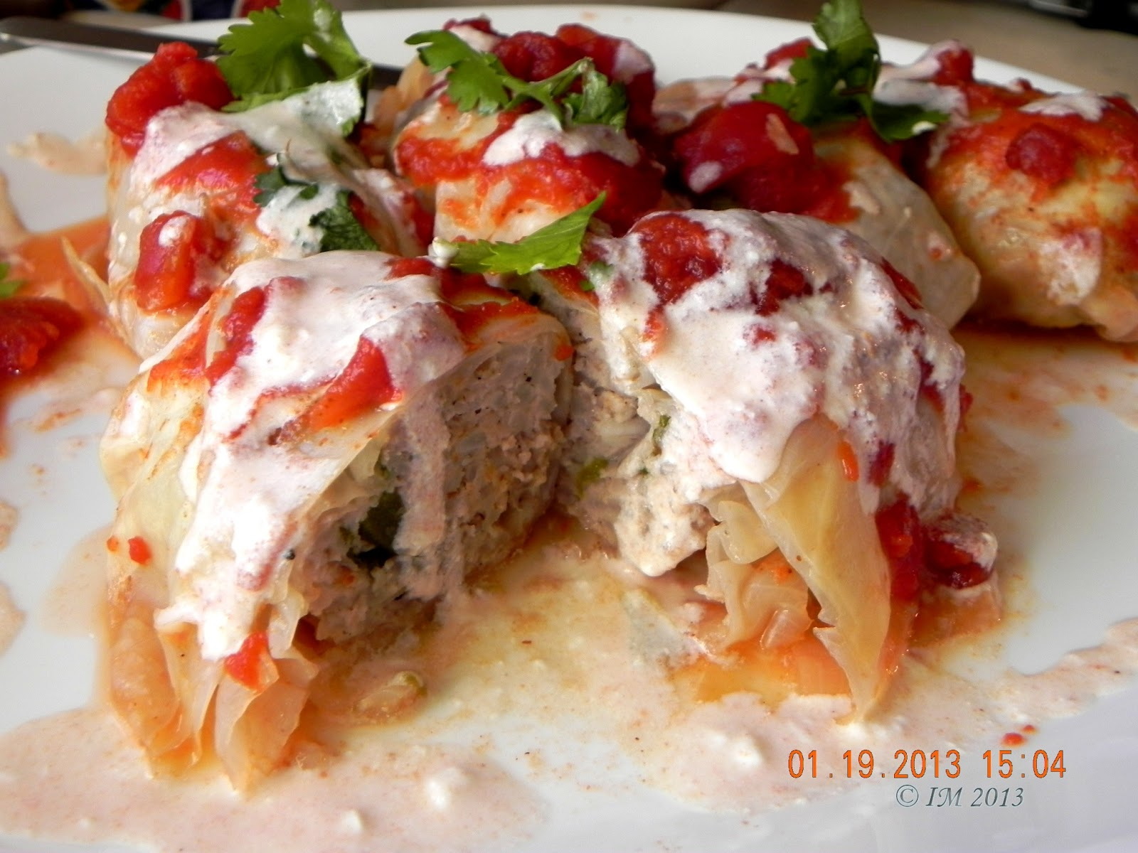 beyond foods: Stuffed Cabbage Rolls (Galumpkis)