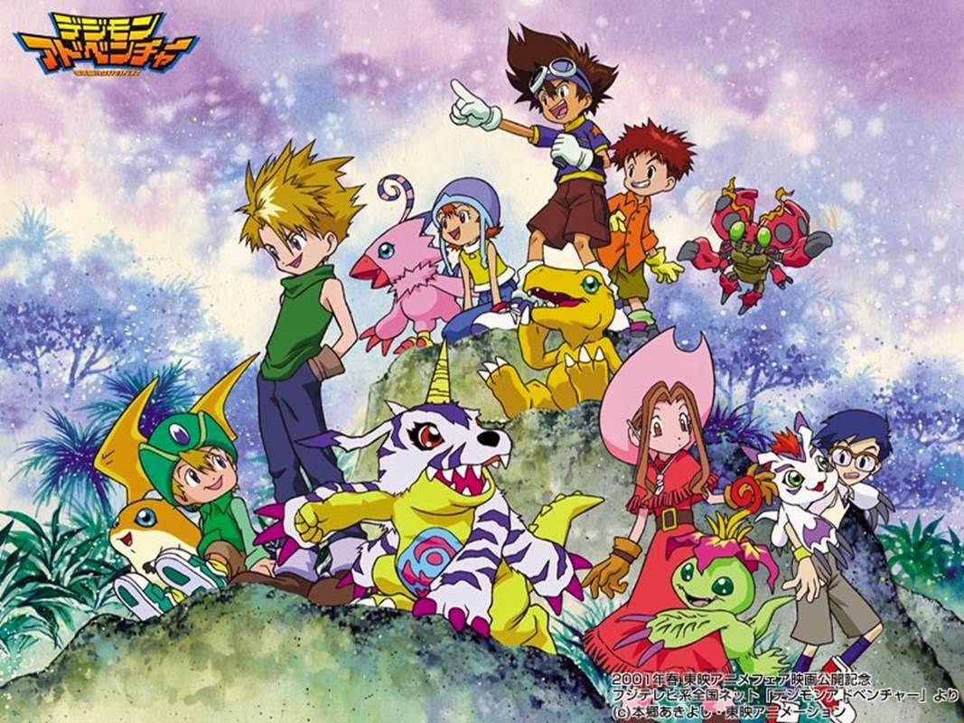 Digimon Adventure  [54/54] [Lat/Jap] [DVD-Box]