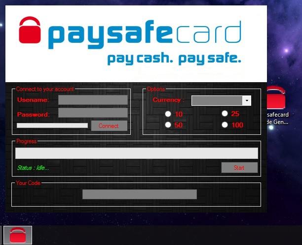 paysafecard online generator