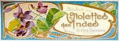 Savon aux violettes des Indes n° 794