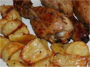 Cosce di Pollo alla Birra