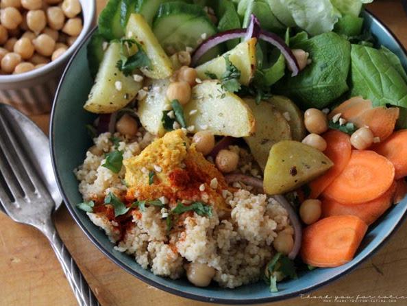 Soulfood - Ein Salat, der die bösen Kältegeister vertreibt