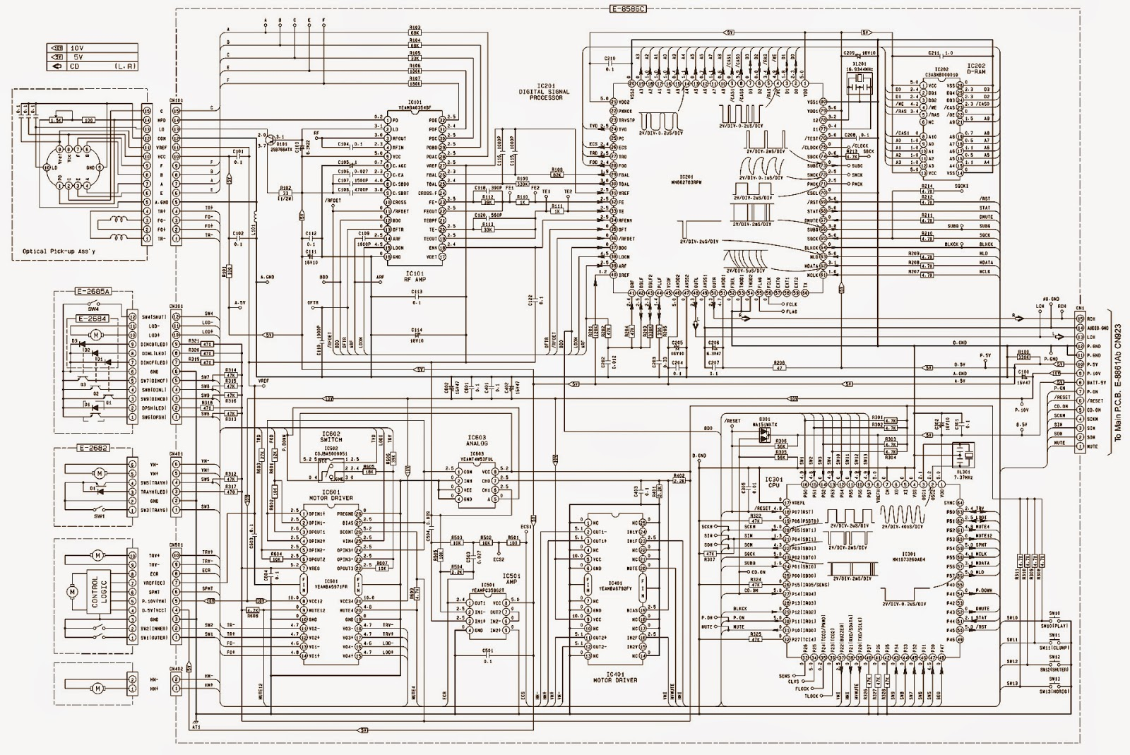 Cq eh9160a panasonic car audio system alignment schematic cq eh9160a panasonic car audio system alignment schematic ccuart
