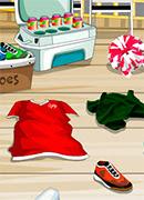 Уборка в раздевалке - Онлайн игра для девочек