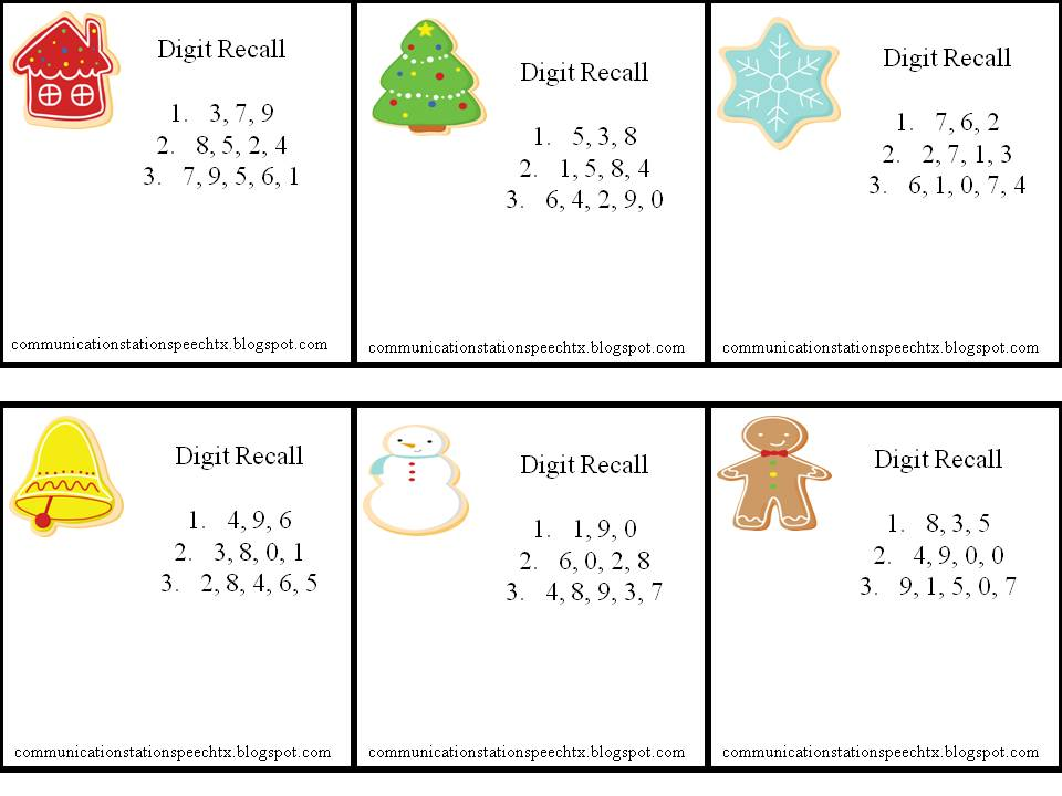 Printables Auditory Memory Worksheets worksheet auditory memory worksheets kerriwaller printables communication station speech therapy pllc a perfect processing recall