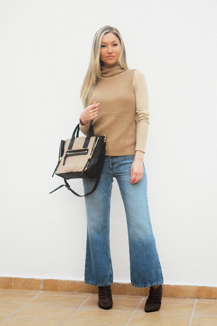 Gosto imenso de jeans! E as calças de ganga flare (à boca-de-sino) vão marcar fortemente toda esta estação. Podemos encontrá-las em denim ou noutro tipo de tecidos menos casuais. Há para todos os estilos e gostos. Dicas de Moda e Imagem. Blog de Moda Style Statement. Culottes. Cropped. Guarda-roupa feminino. Tendências. Primavera/Verão 2015. Blog de moda portugal, blogues de moda portugueses.