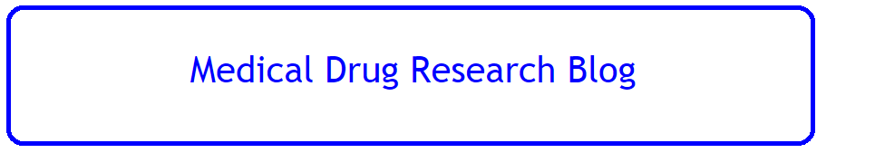 Medical Drug Research Blog