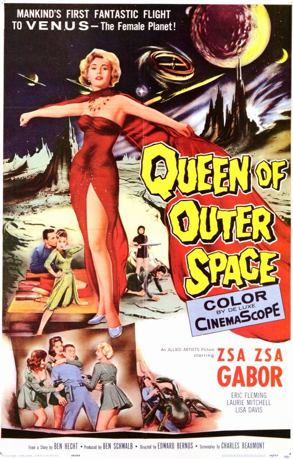 Mills movie poster vault queen of outer space for Outer space movies