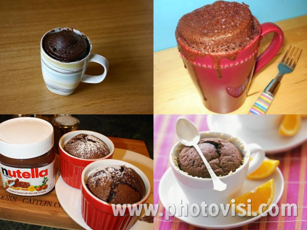 كيف تعدّين كيك بالشوكولا في كوب وفي خمس دقائق