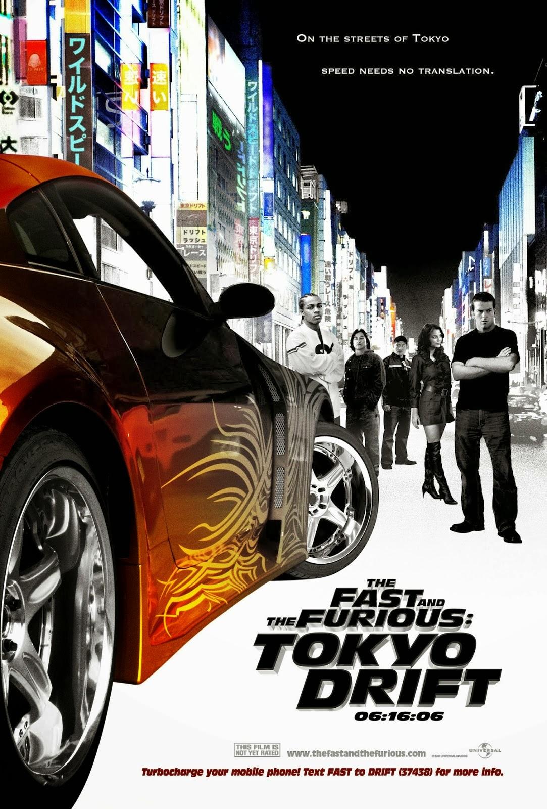 ดูหนังออนไลน์ เรื่อง : The Fast and the Furious: Tokyo Drift (2006) เร็วแรงทะลุนรก ซิ่งแหกพิกัดโตเกียว 3 [HD]
