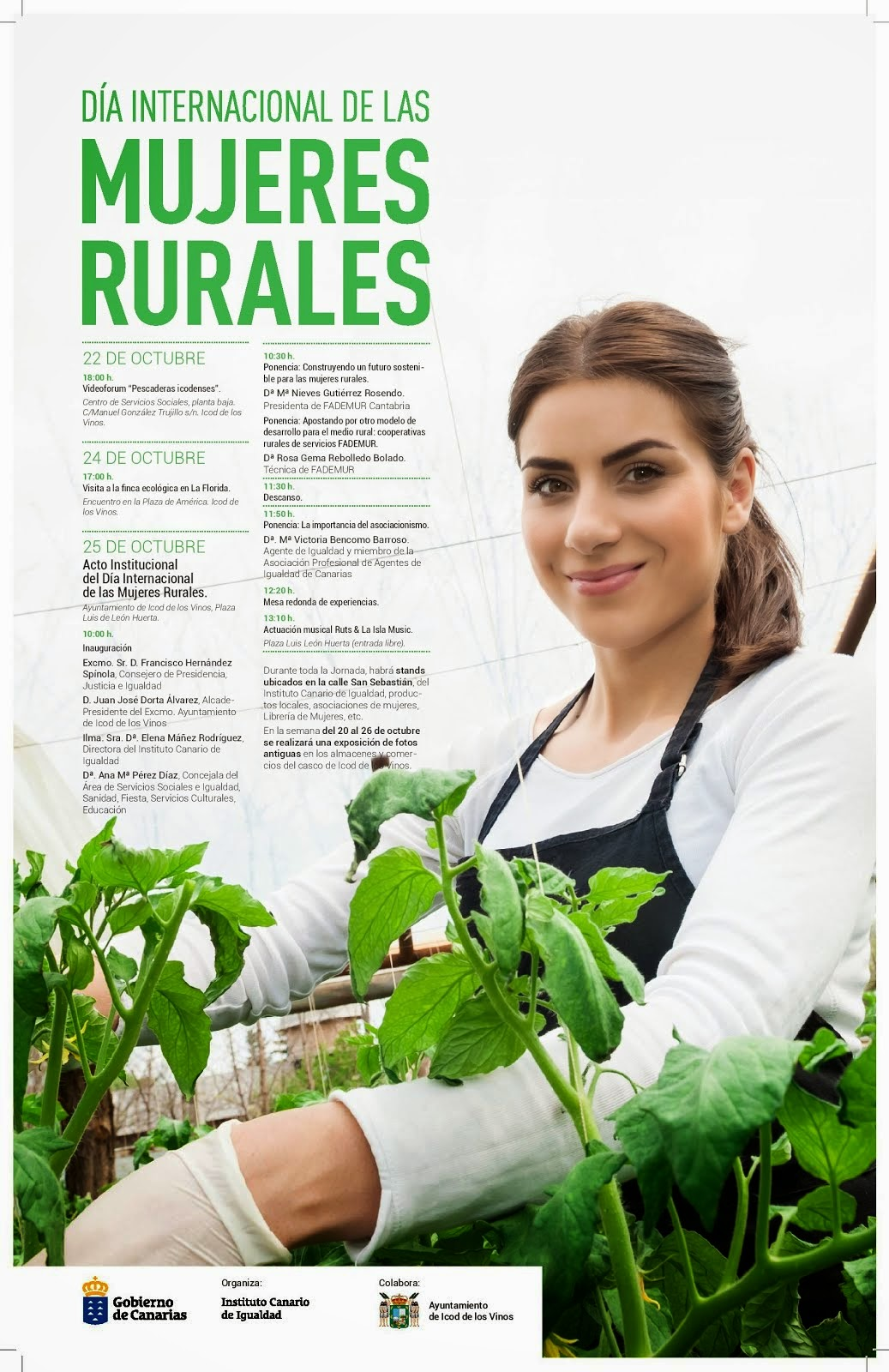 Día Internacional de la Mujer Rural en Icod
