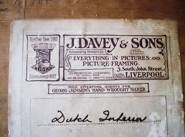 Picture Frame Labels J Davey Sons