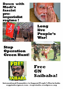 Support the People's War in India