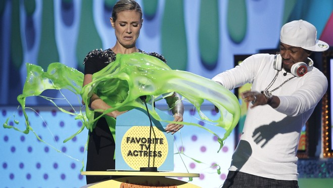 heidi klum kids choice awards. Heidi Klum - Nickelodeon Kids#39;