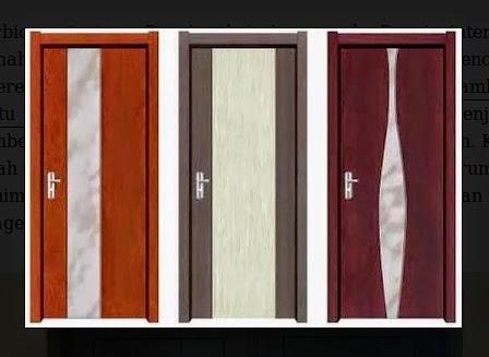 gaya bentuk daun rumah minimalis dengan warna coklat