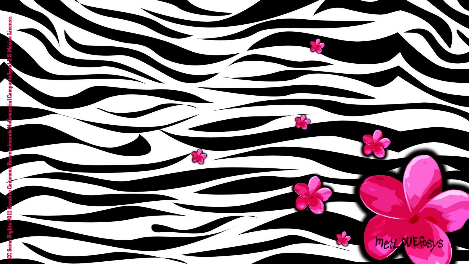 wwWallpaper ]-: wallpaper cebra y flor