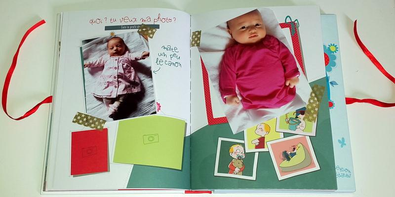 Top Mademoiselle-Coralie: Mon album de naissance pour P'titePuce {mon  QL48