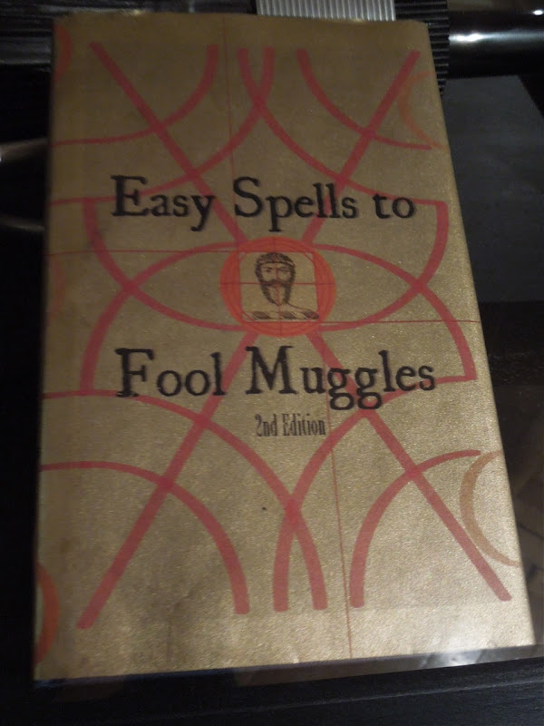 Easy Spells to Fool Muggles book prop