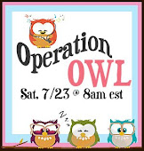 Operation Owl Thank you blog hop