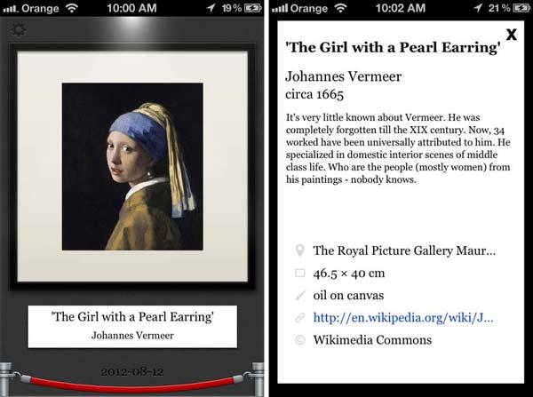 aplicaciones arte Dayly Art smartphone tablet apps