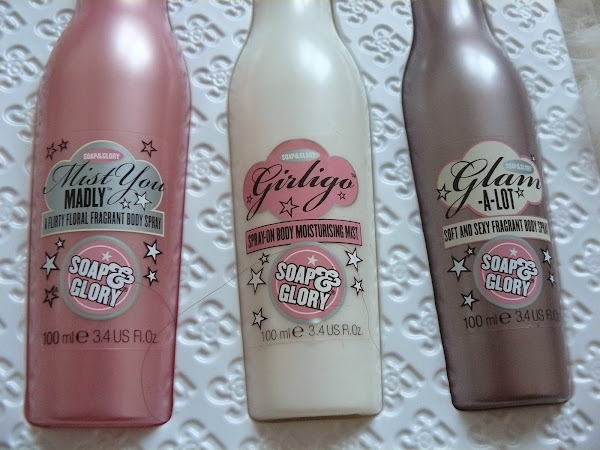 Worth a buy or not? Soap and glory body sprays.