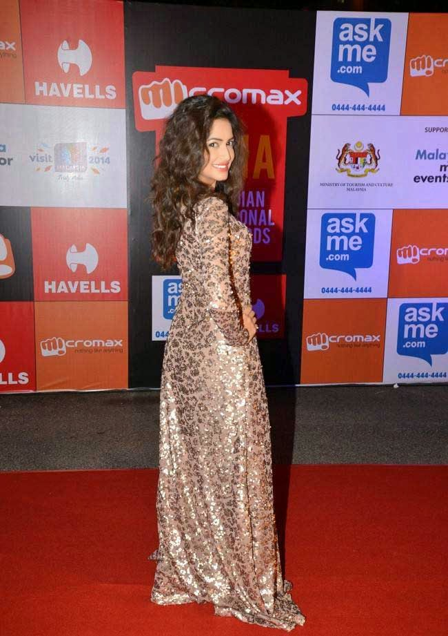 Kriti Kharbanda At SIIMA Awards 2014
