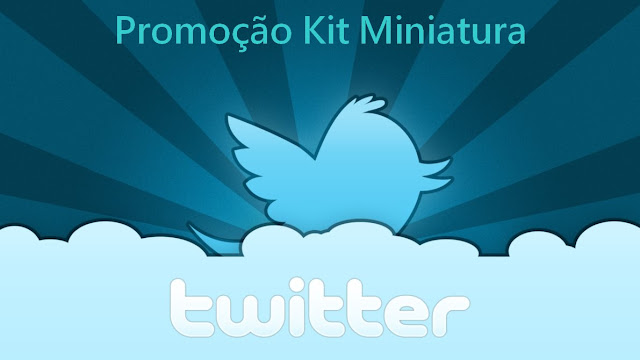 Promoção kit Miniatura Glenmark no Twitter