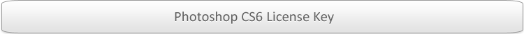 Photoshop CS6 License Key