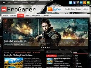 ProGamer - Free Wordpress Theme