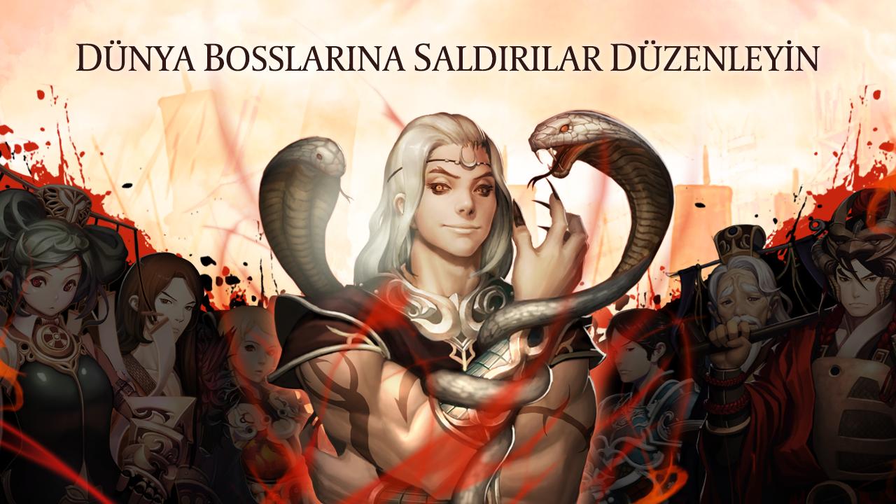 Dynasty Warlord (Sihirli Kartlar) Android Apk Oyunu resimi 1