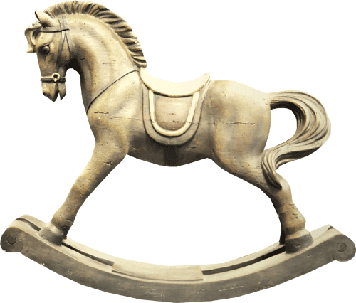 imagen de caballo de madera