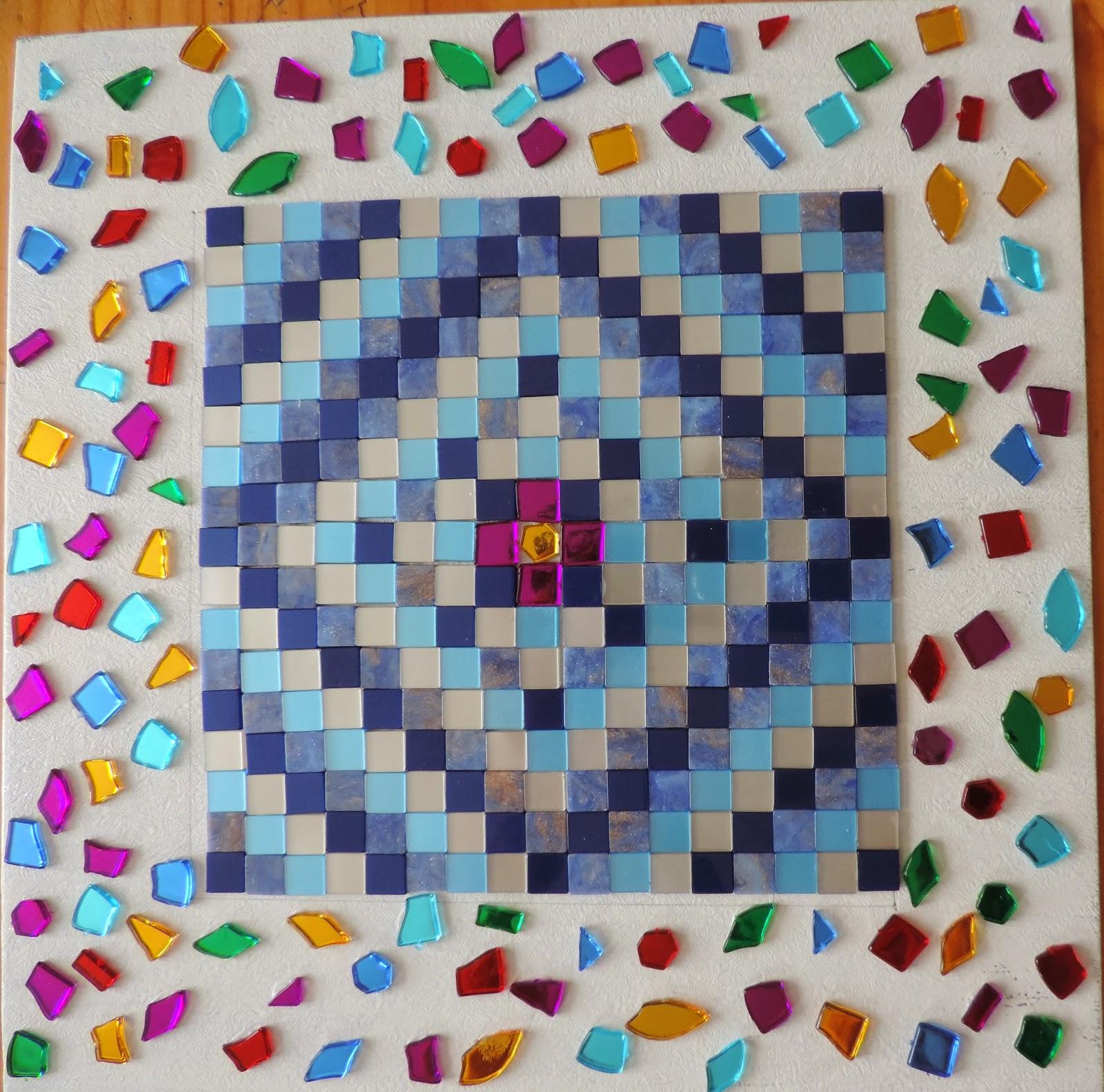hobbycraft mosaic tessellated design