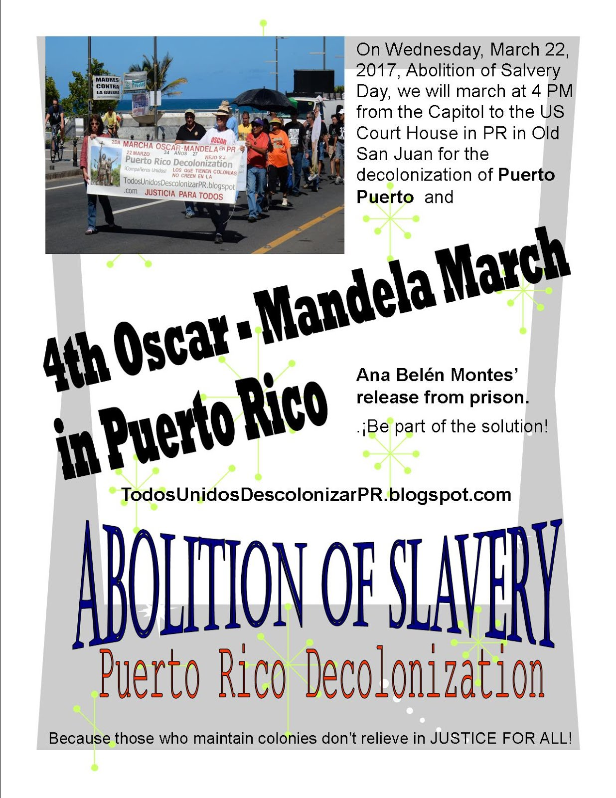 4th Oscar - Mandela March in PR 2017