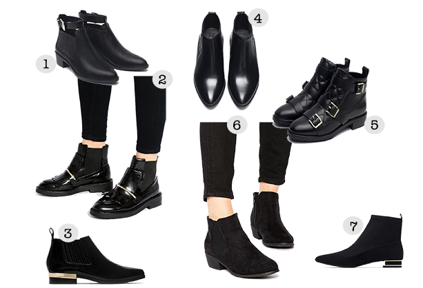 September obssesion: black boots