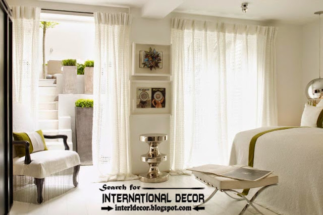 Top trends living room curtain styles, colors and materials